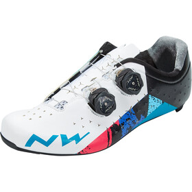 Northwave Revolution 2 Kengät Miehet, white/black/blue